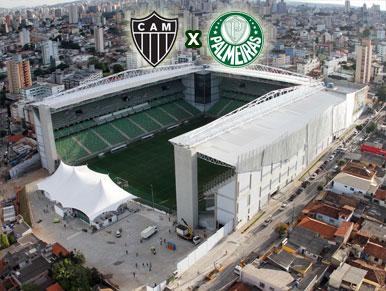 Pré-jogo Atlético-MG x Palmeiras