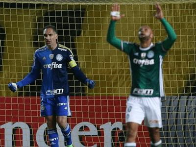 Fernando Prass e Felipe Melo