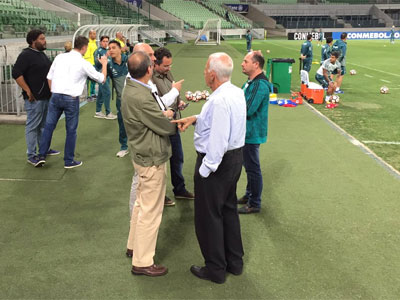 Treino Palmeiras Allianz Parque