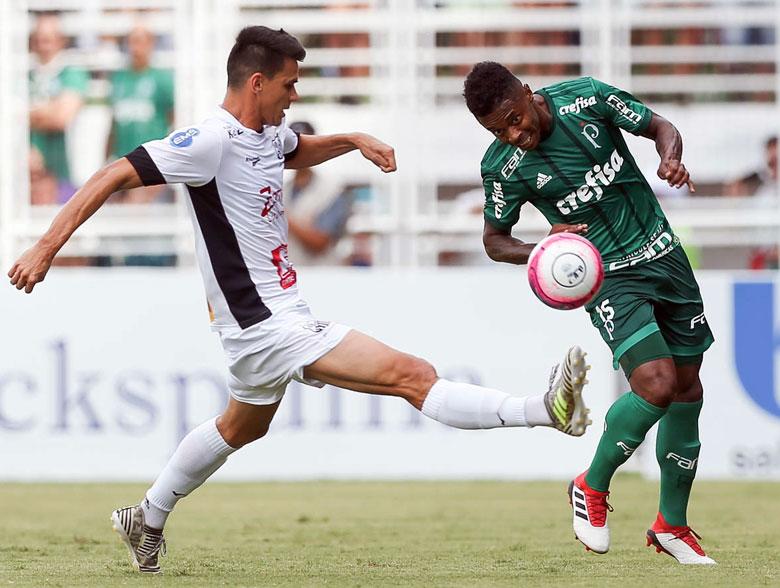 Bragantino 0x2 Palmeiras