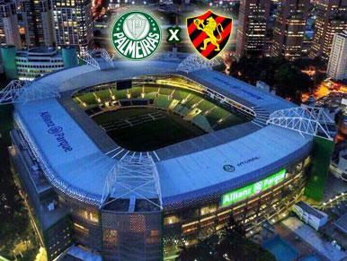 Pré-jogo Palmeiras x Sport