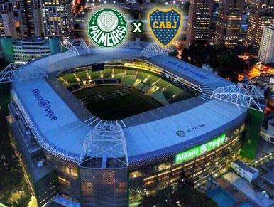 Pré-jogo Palmeiras x Boca Juniors