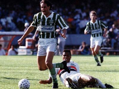 Evair na final do Campeonato Paulista de 1992