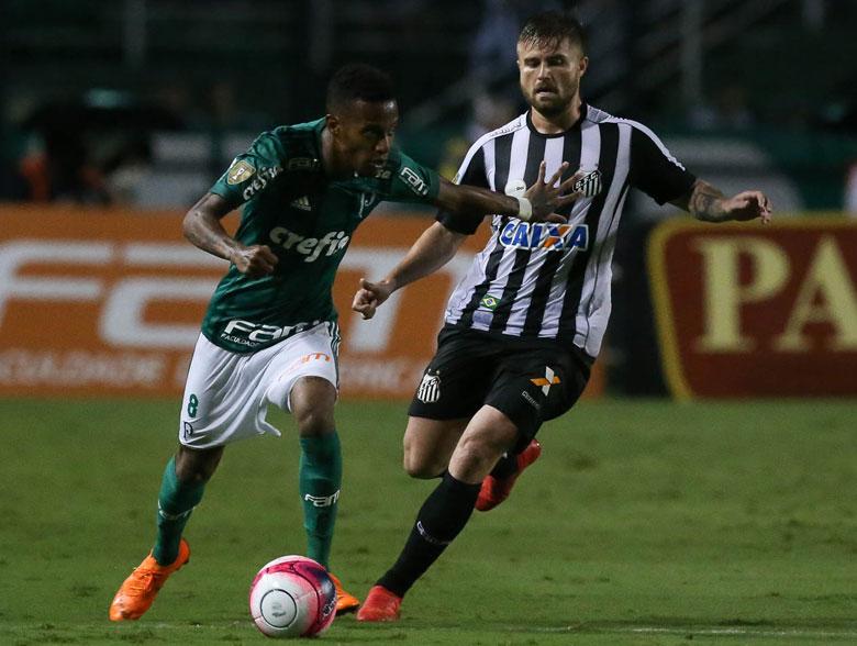 Palmeiras 1(5)x(3)2 Santos