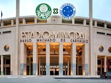 Pré-jogo Palmeiras x Cruzeiro