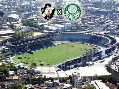 Pré-jogo Vasco x Palmeiras