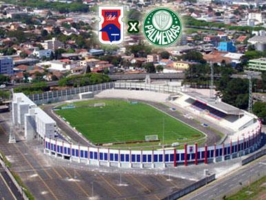 Pré-jogo Paraná x Palmeiras