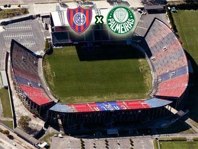 Pré-Jogo San Lorenzo x Palmeiras