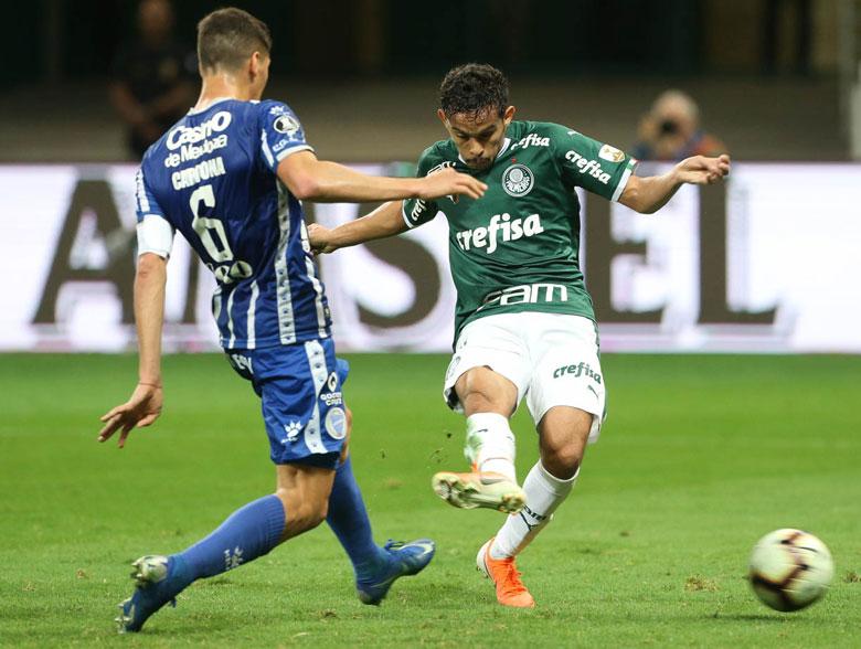 Palmeiras 4x0 Godoy Cruz