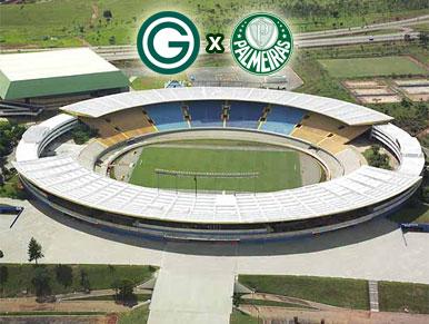 Pré-jogo Goiás x Palmeiras