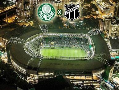 Pré-jogo Palmeiras x Ceará