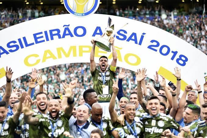 Palmeiras Campeão Brasileiro 2018