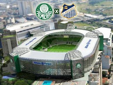 Pré-jogo Palmeiras x Água Santa