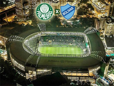 Pré-jogo Palmeiras x Bolívar