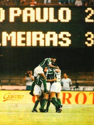 SPFC 2x3 Palmeiras