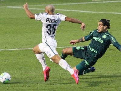 Palmeiras 2x1 Santos