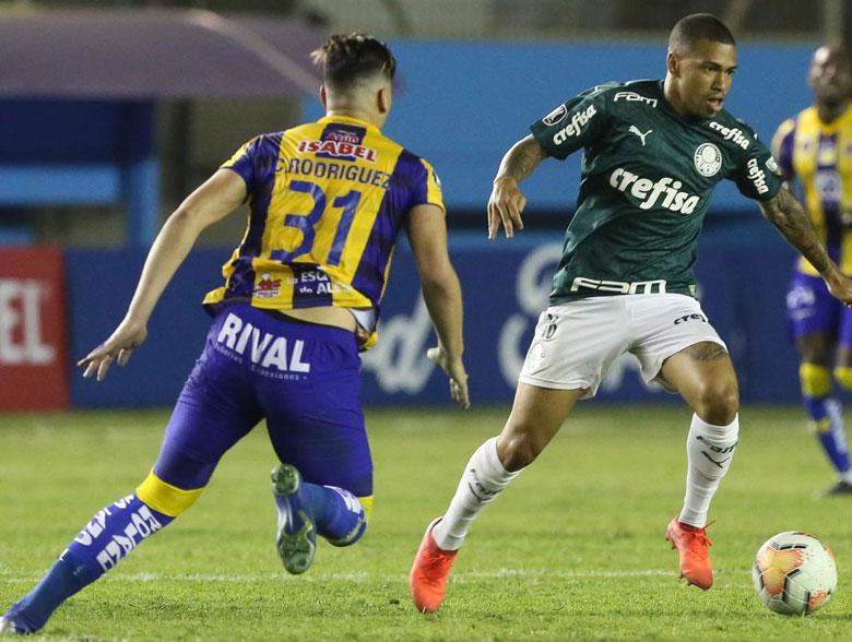 Delfín 1x3 Palmeiras