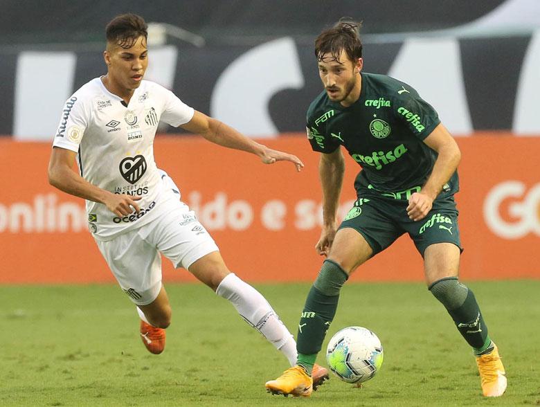 Santos 2x2 Palmeiras