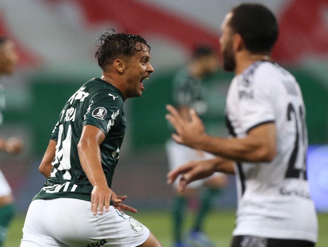 Palmeiras 3x0 Libertad