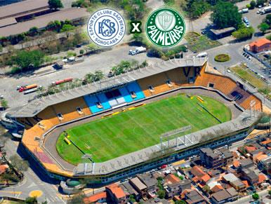 Pré-jogo São Bento x Palmeiras
