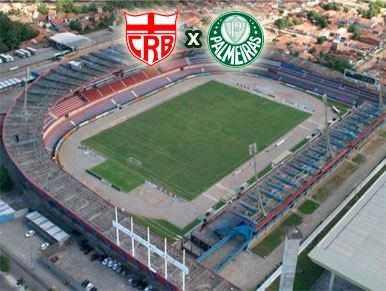 Pré-jogo CRB x Palmeiras