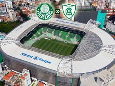 Pré-jogo Palmeiras x América-MG