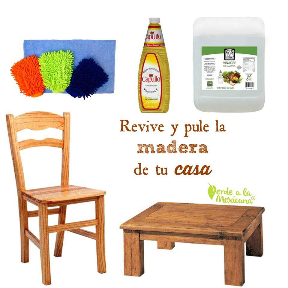 como limpiar los muebles de madera sin usar qu micos