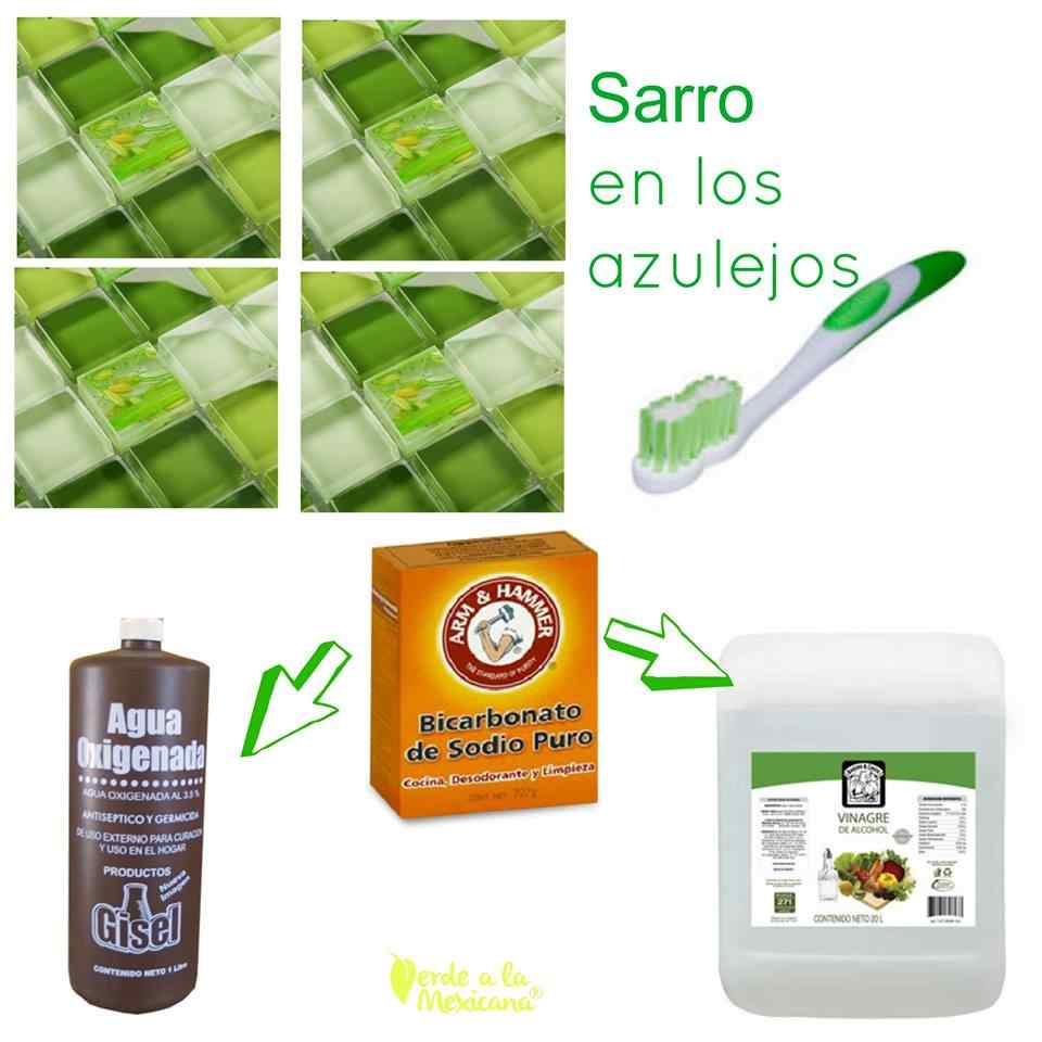 Como Quitar El Sarro En Los Azulejos Sin Quimicos Toxicos Verde A