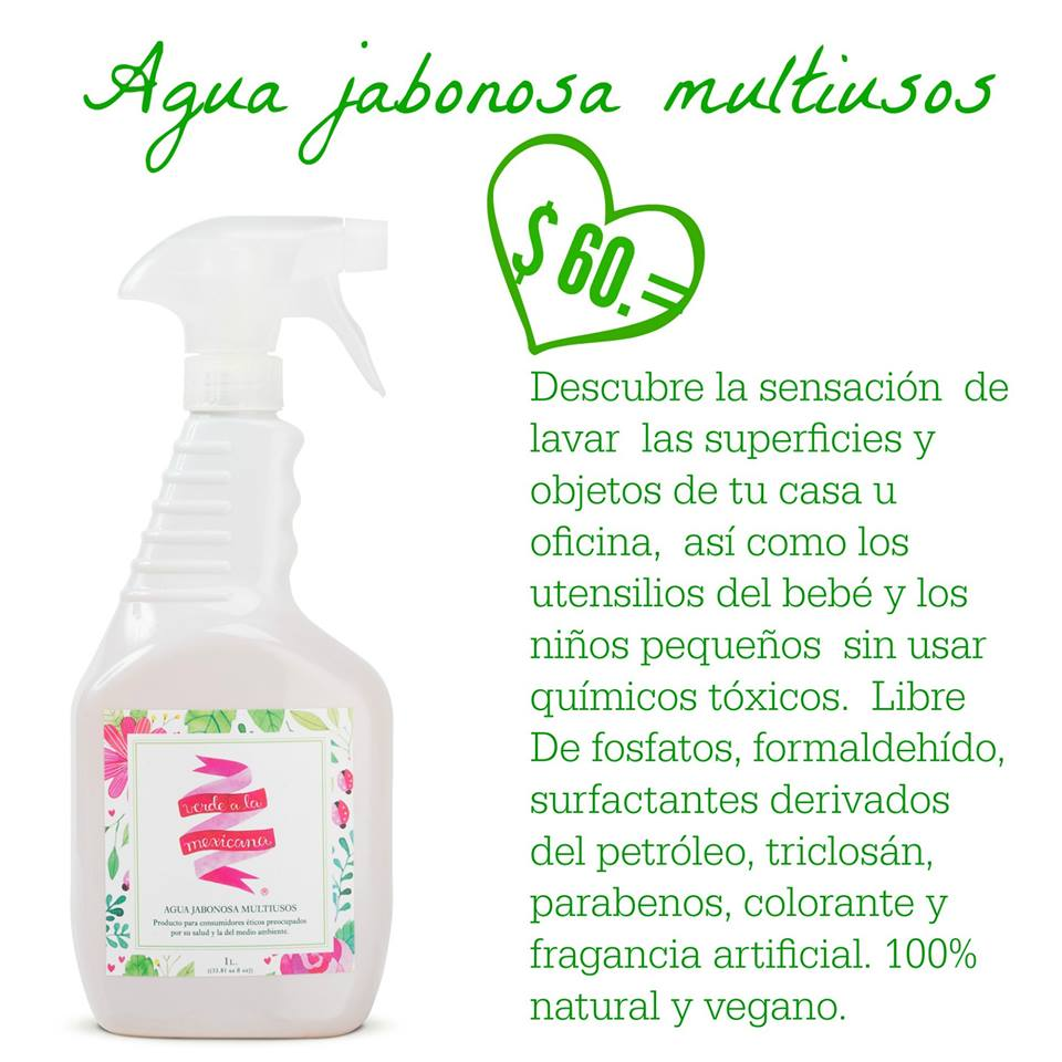 lava sin químicos toxicos