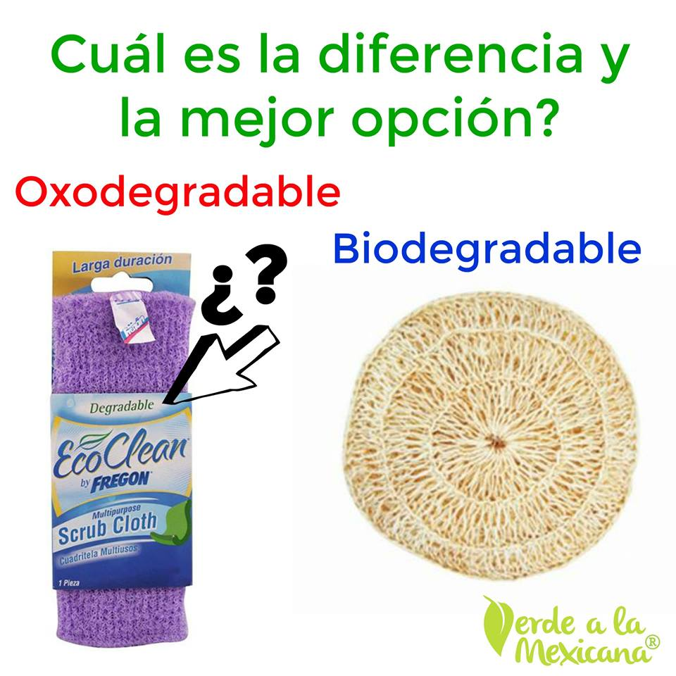 diferencia entre biodegradable y oxodegradable