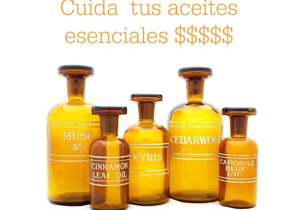 Cuida tus aceites esenciales