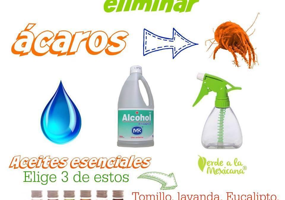 Spray casero para ácaros