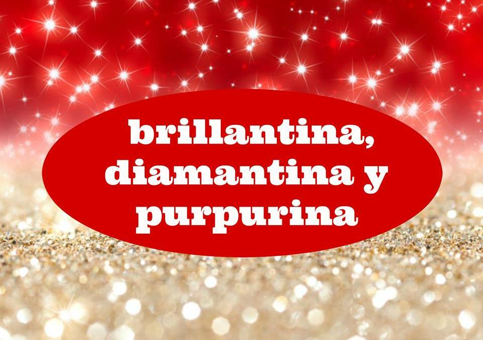 Brillantina, diamantina y purpurina