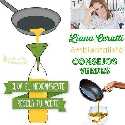 Reciclar el aceite de cocina