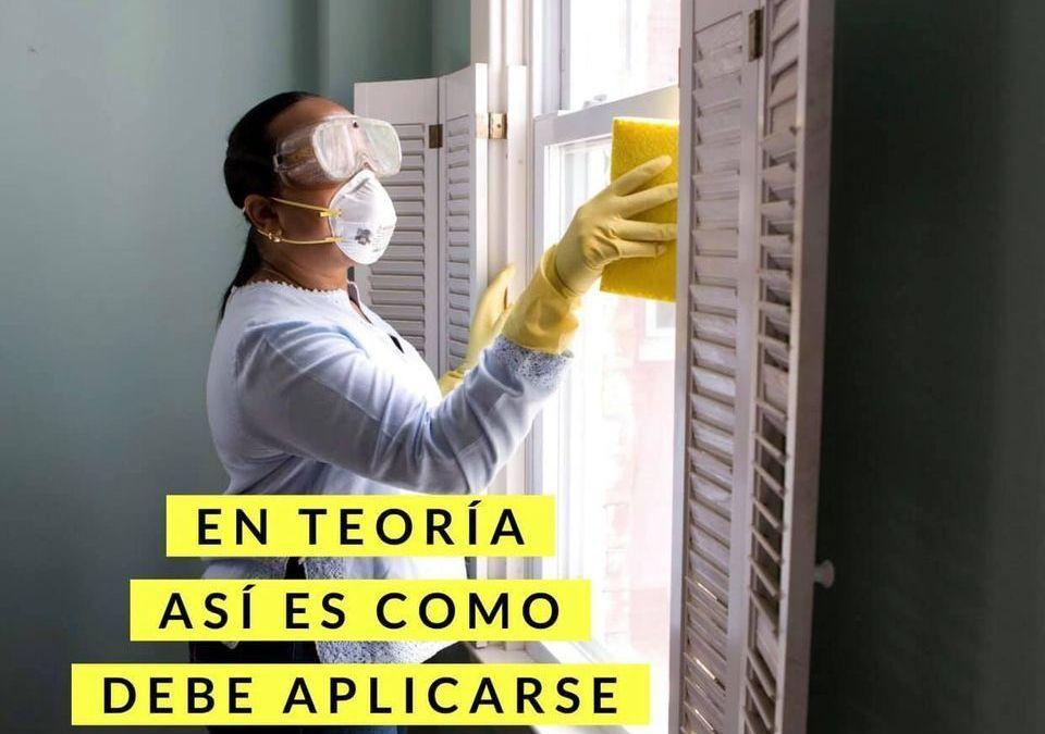 Cómo aplicar el cloro para desinfectar