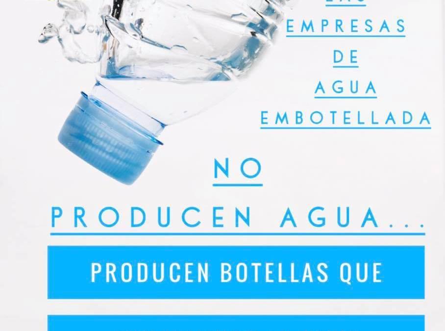 ¿Qué venden las empresas de agua embotellada?