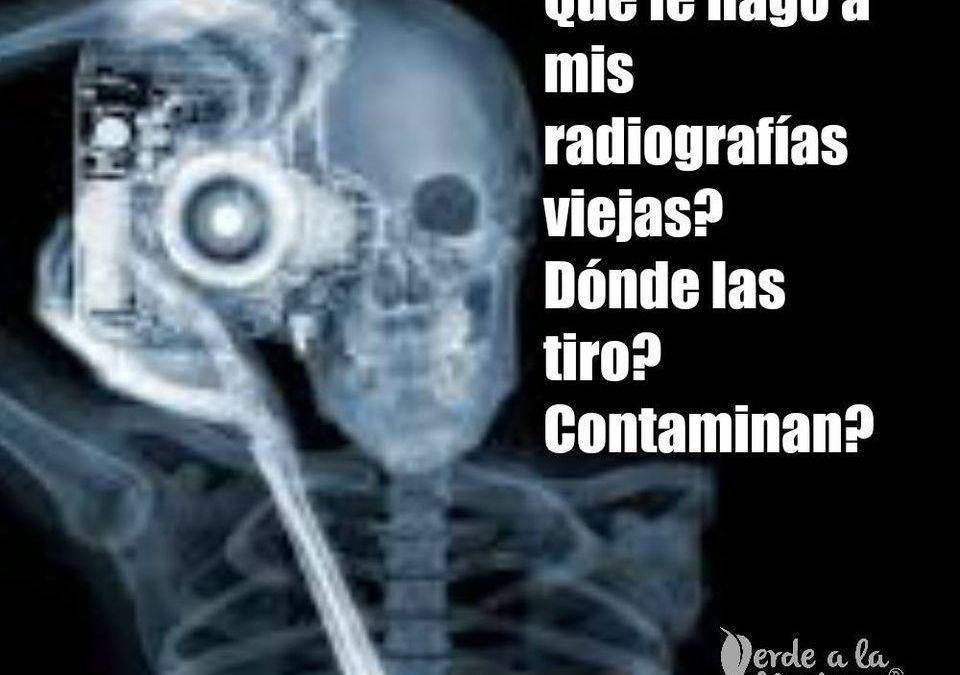 Desecho de radiografías