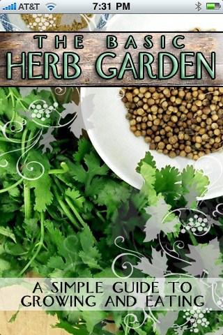 Aplicaciones Iphone sobre jardineria : Herbgarden