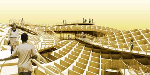 Metropol Parasol: cubiertas