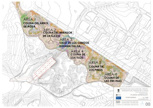La Gavia zonas temáticas