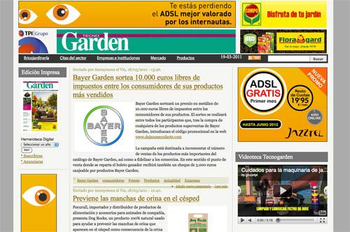 Revistas online: tecnogarden
