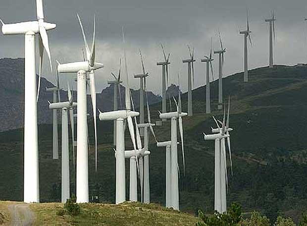 eolica en el Camno de Santiago