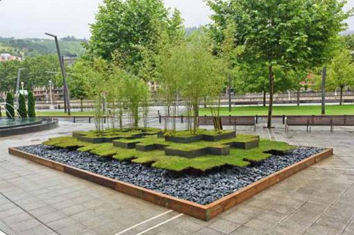 pixel[GREEN] - Bilbao jardín 2011