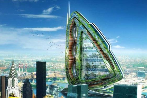 Arquitectura verde para el futuro : Rascacielos modernos