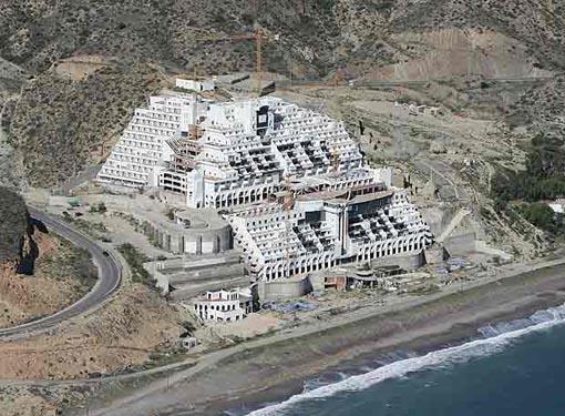 Hotel del Algarrobico, Carboneras. Almería.