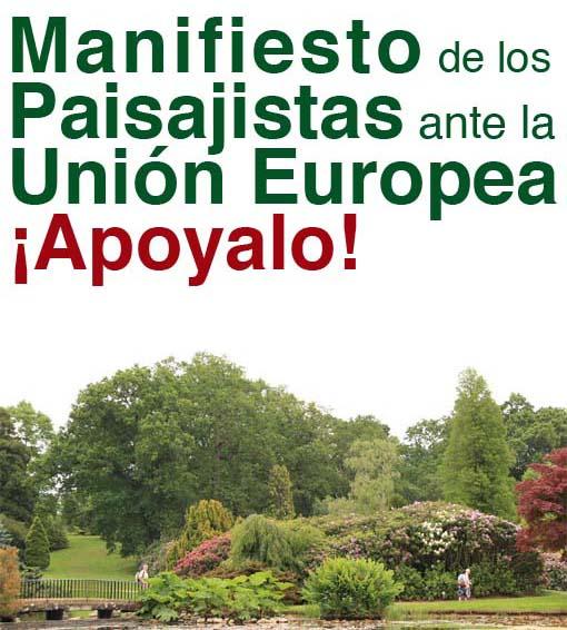 Manifiesto de los paisajistas