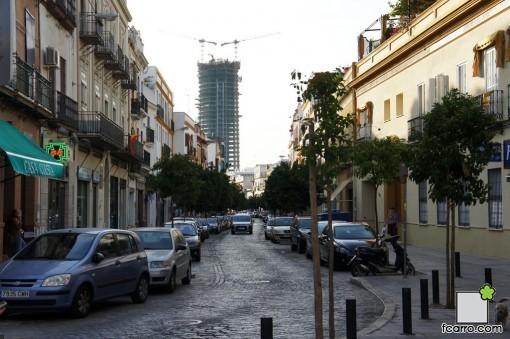 como se destruyó un paisaje histórico: Calle Castilla, Torre Pelli