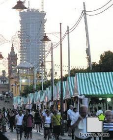 Calle Betis y Torre Cajasol