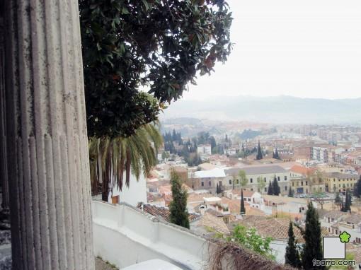 vistas de Granada desde el carmen