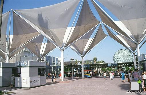Puerta Aljarafe desde interior